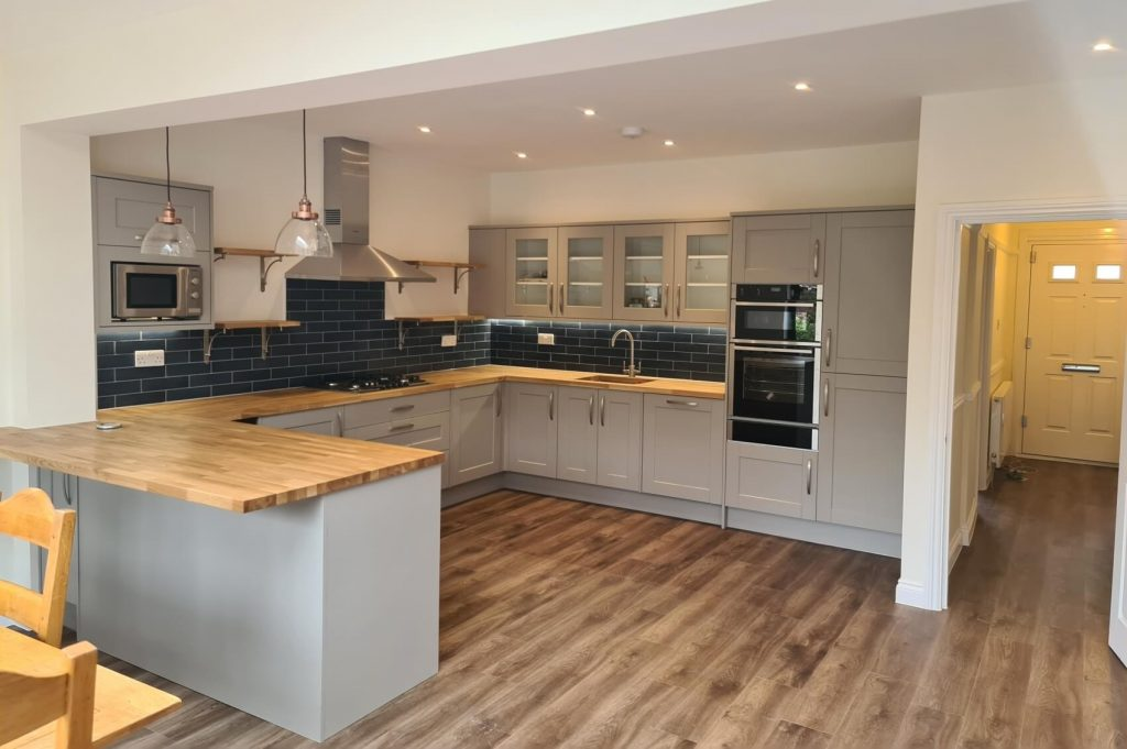 Open kitche plan - finished